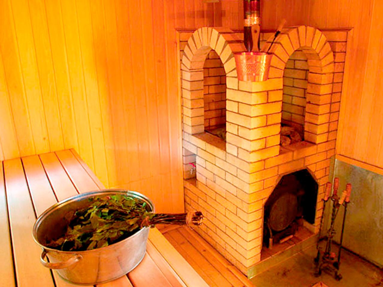 Каменная печь для бани своими руками фото